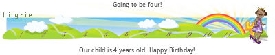 Lilypie Fourth Birthday (0u5F)
