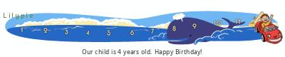 Lilypie Fourth Birthday (2QTG)