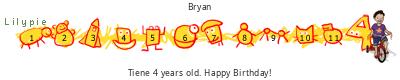 Lilypie Cuarto tickers cumpleaños