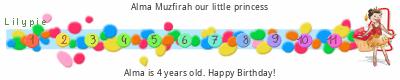 Lilypie Fourth Birthday (LR8o)