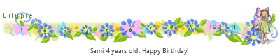 Lilypie Fourth Birthday (Nasb)
