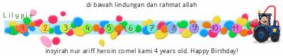 Lilypie Fourth Birthday (SMVe)