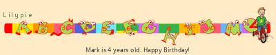 Lilypie Fourth Birthday (XQLl)