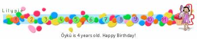 Lilypie Fourth Birthday (ZzGo)