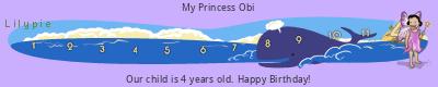 Lilypie Fourth Birthday (nQCe)