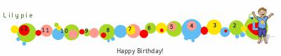 Lilypie Fourth Birthday (snkP)