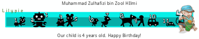 Lilypie Fourth Birthday (x7pm)